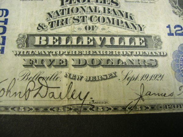 515: Series 1902 Five Dollar ($5.00) Peoples National B - 2