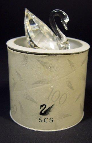522: Swarovski Crystal Mini Swan SCS. Signed. Has Origi - 4