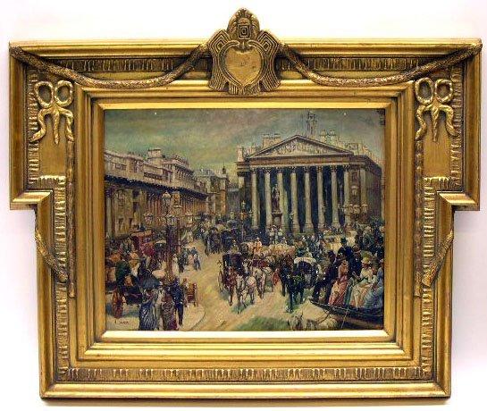 773: Mid 20th Century American School Decorative Oil on