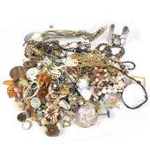 Large Assortment of Vintage Costume Jewelry