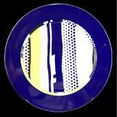 Roy Lichtenstein for Rosenthal Plate