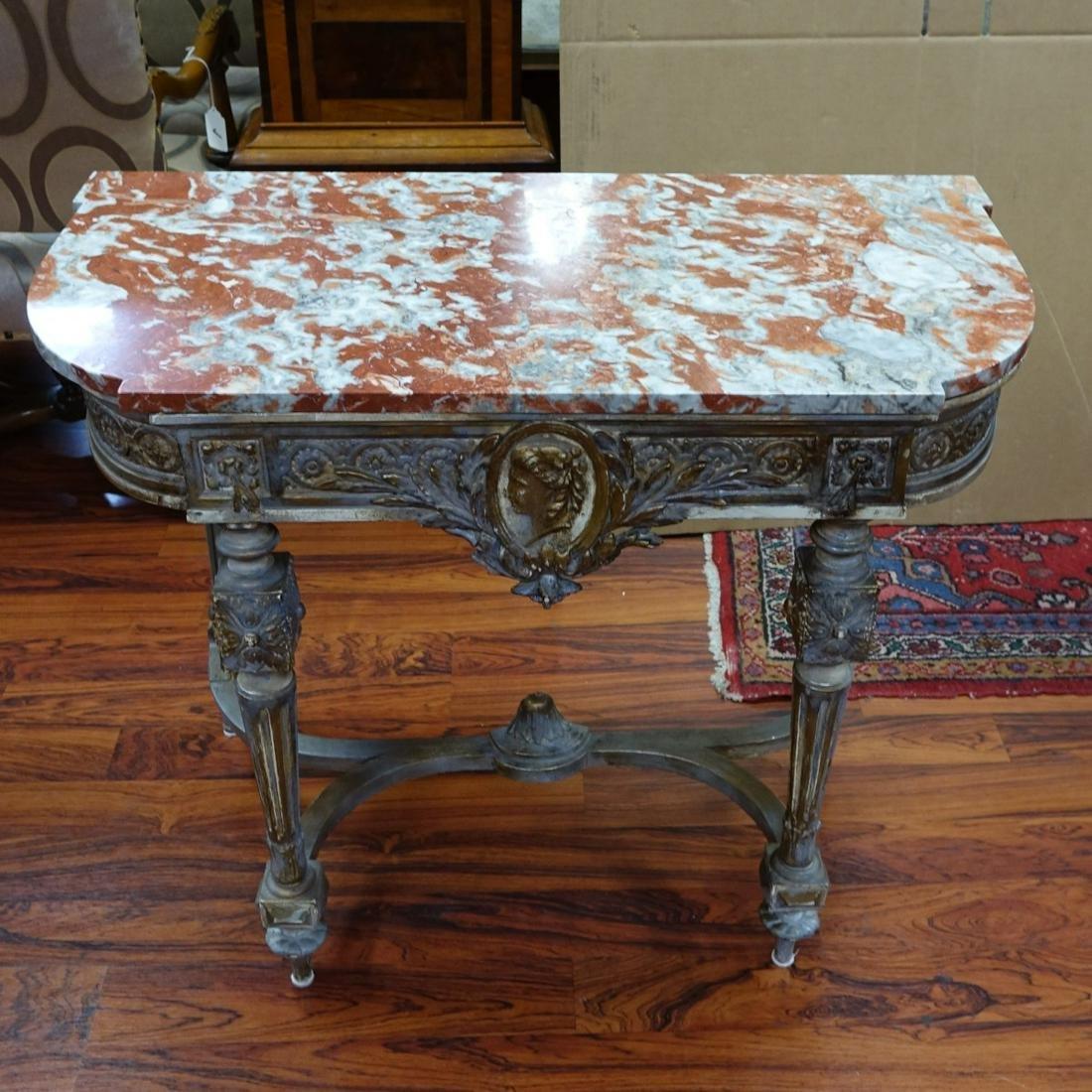 Italian Louis XVI Style Console Table