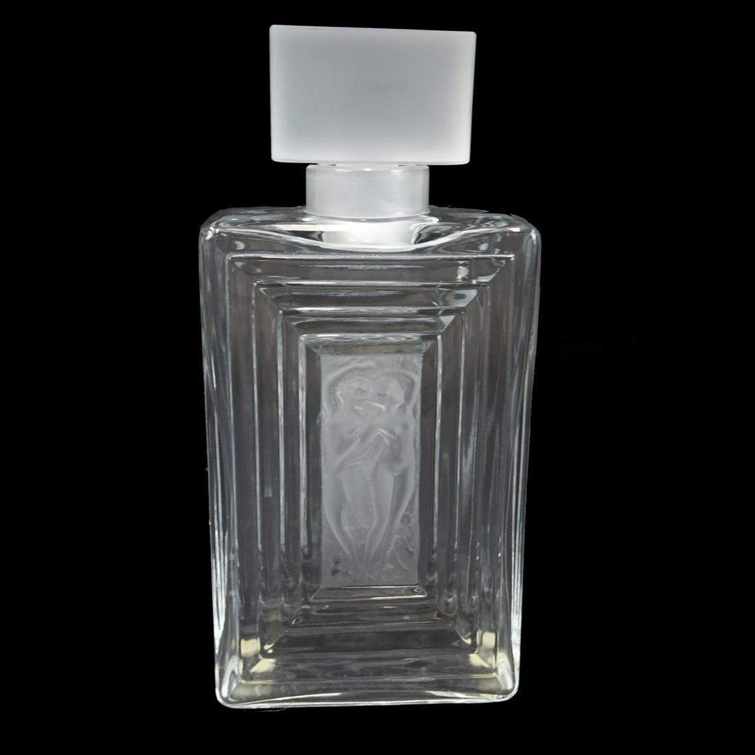 """Lalique """"Flacon Duncan"""" Perfume Bottle"""