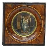 Antique European School Miniature Painting