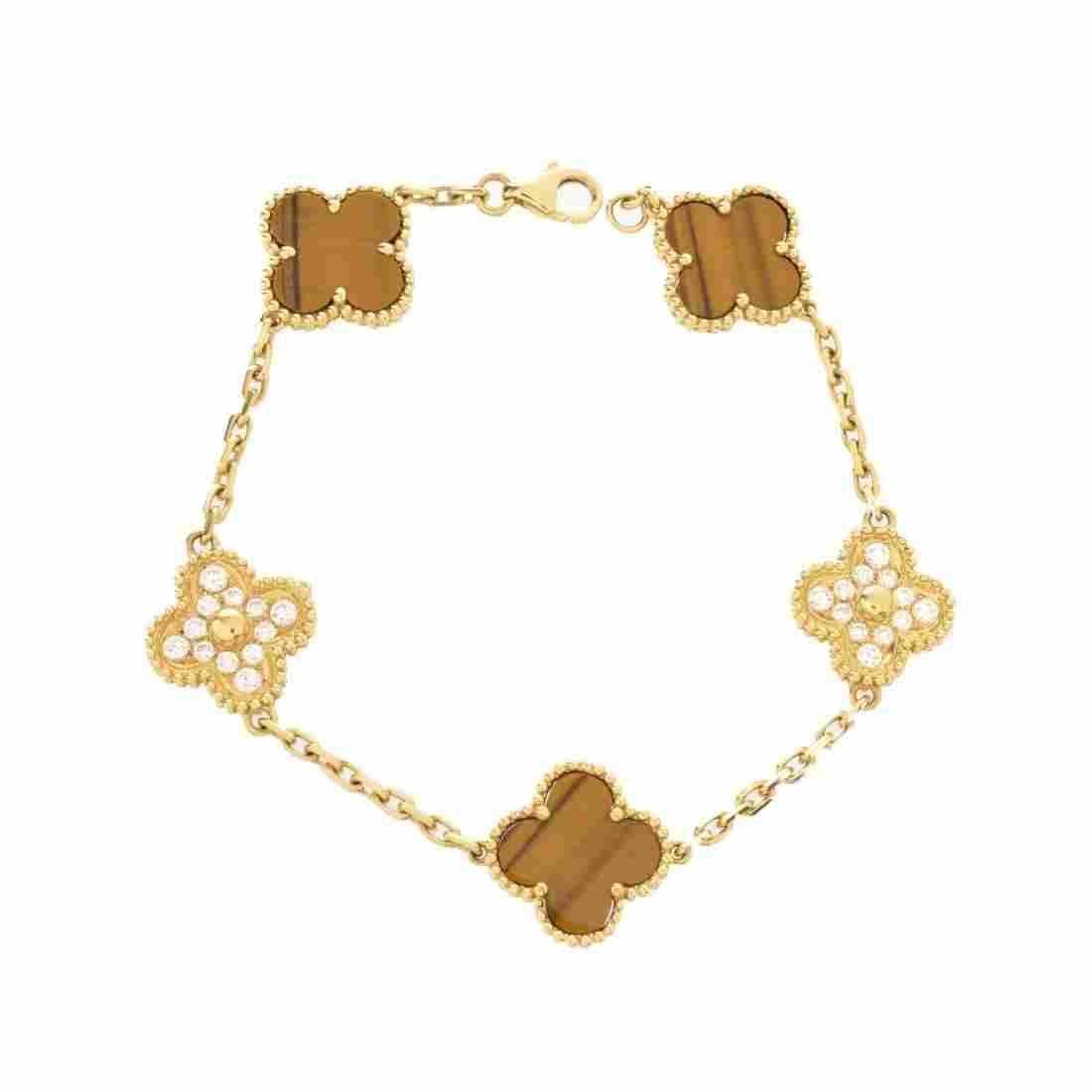 VCA style Alhambra Bracelet