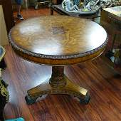 Maitland & Smith Hand Carved Center Table