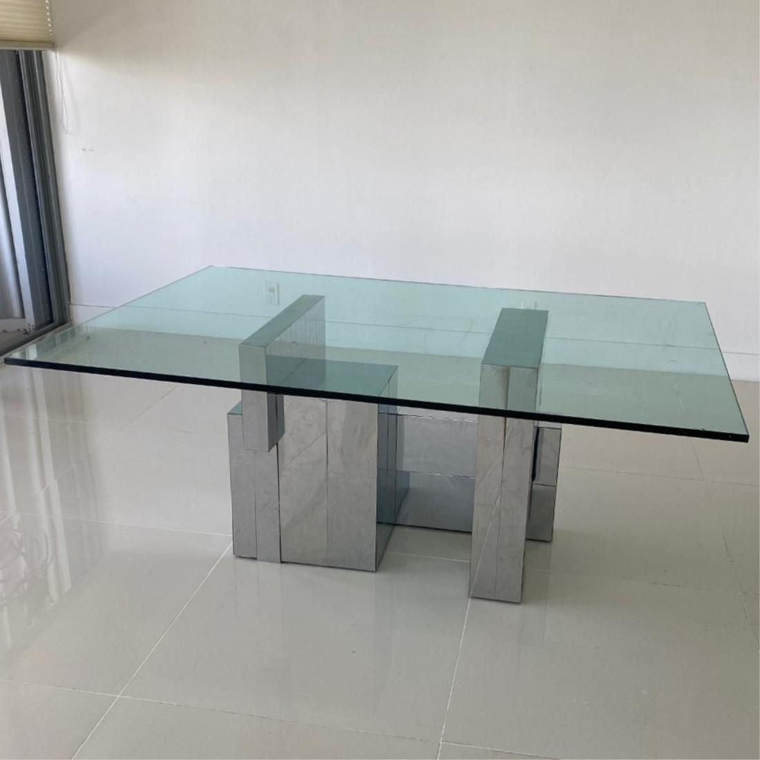 """Paul Evans """"Cityscape"""" Dining Table"""