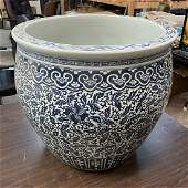 Large Chinese Qing Style Jardiniere