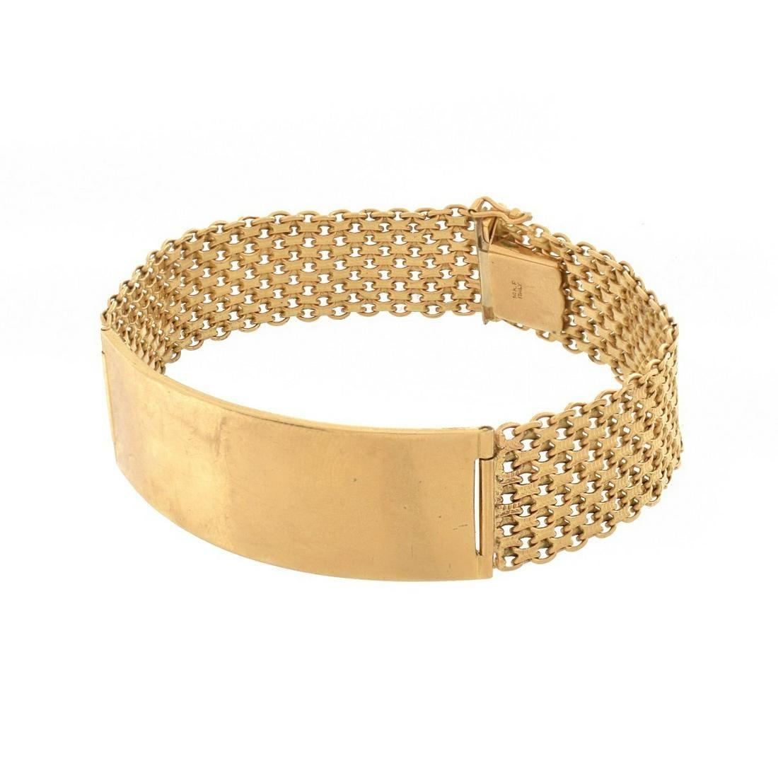 14K ID Bracelet