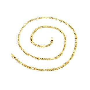 Figaro Link 14K Chain