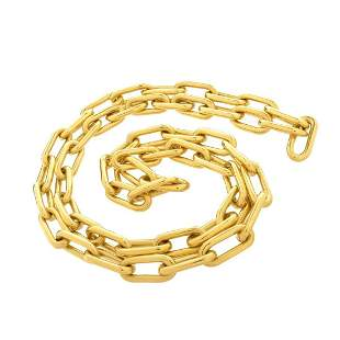 Rolo Link 18K Chain