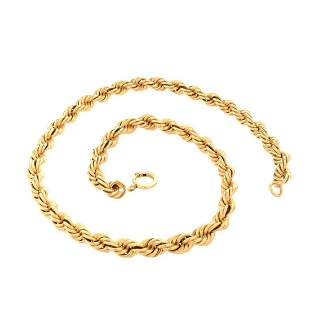 14K Rope Chain
