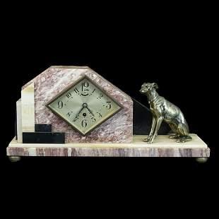Vintage Art Deco Ucra Mantle Clock