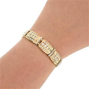 Diamond and 14K Bracelet