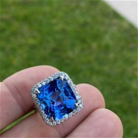 AGL Ceylon Sapphire Ring