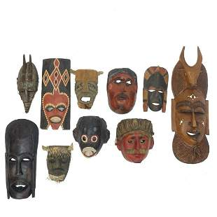 Antique and Vintage Masks