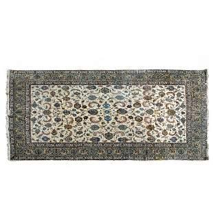 Large Persian Tabriz Oriental Rug
