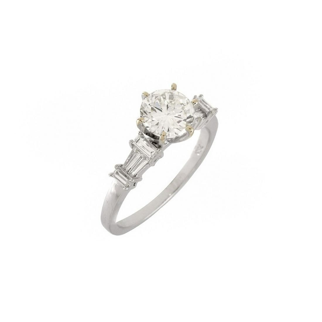 GIA Diamond Engagement Ring