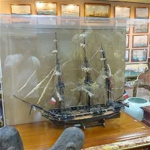 Galleon Ship's Model