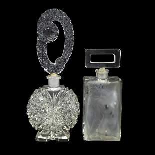 Czech Crystal Perfume Bottles