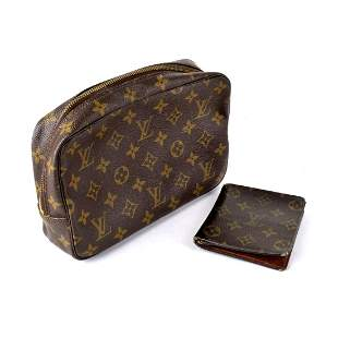 Louis Vuitton Clutch and Wallet