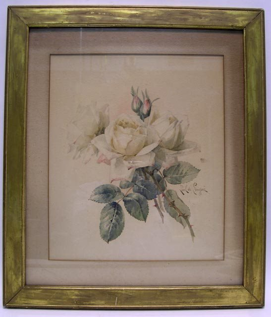 397: Paul De Longpre American-California (1855-1911) W/