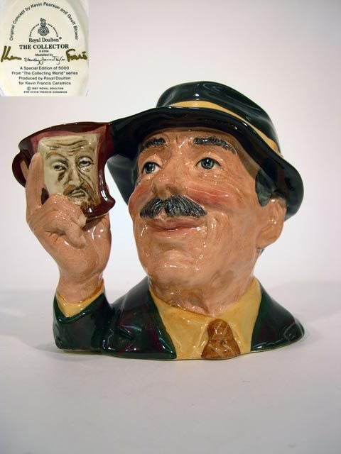 1002: Royal Doulton Toby Jug The  Collector D6796. The
