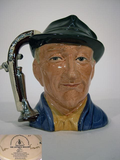1003: Royal Doulton Toby Jug The Antique Dealer D6807
