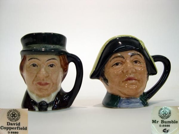 1009: Miniature Royal Doulton Toby Mug Oliver Twist D66
