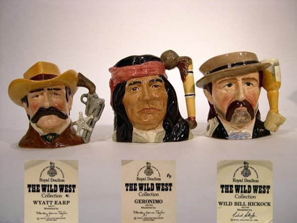 1017: Royal Doulton Toby Jug The Wild West Collection W