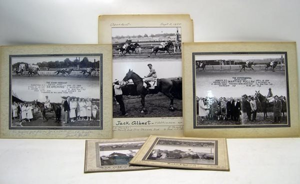 1024: Assorted Thoroughbred Horse Racing Winning Photos