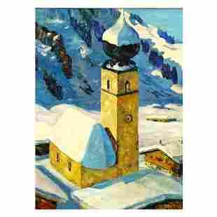 Attrib: Alfons Walde, Austrian (1891 - 1958)