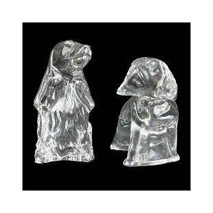 Baccarat Figurines