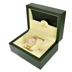 Rolex Datejust Pearlmaster Watch