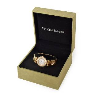 Van Cleef & Arpels 18K Watch