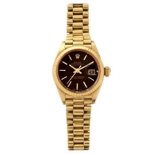 Rolex Datejust 18K Watch
