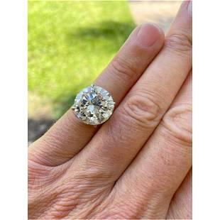 Cartier 12.40ct Diamond Ring