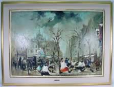 198B Cesarino Monti Italian 19161979 Oil on Canvas