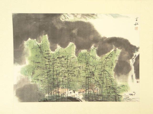 Li Zhu Cen Chinese (worked Late 20th Century) Ink and C