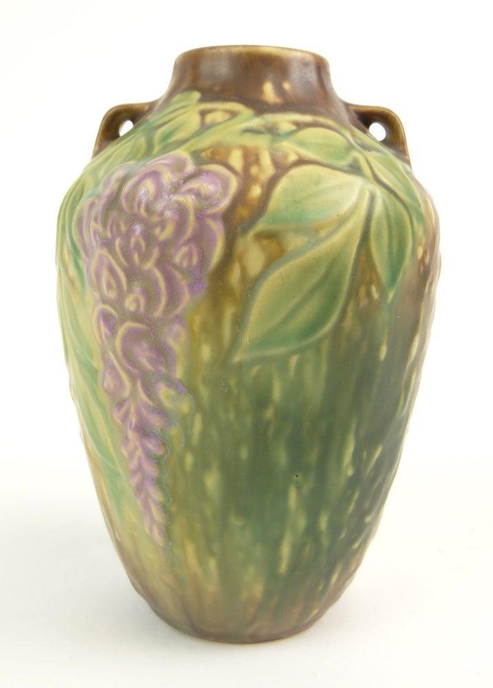 Roseville Art Pottery Elephant Foot Vase. Shape Number