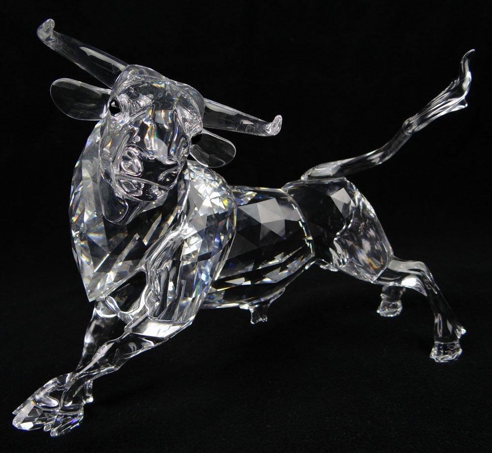 Swarovski 2006 Limited Edition Bull Figure 3139/10,000.