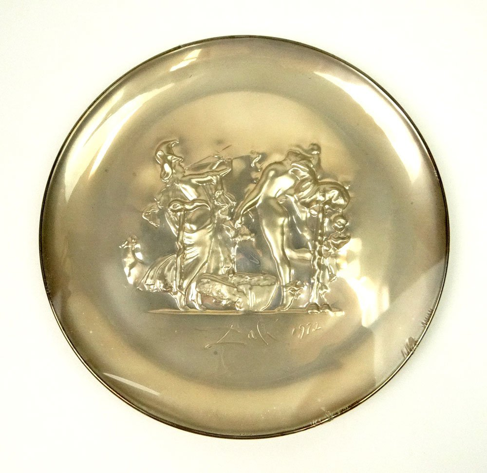 Salvador Dali, Spanish (1904-1989) Lincoln Mint Circa