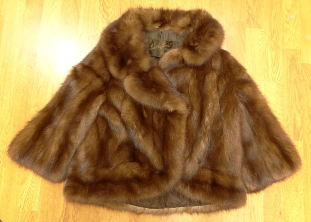 Lady's Vintage Gunther Jaeckel Furs for Bonwit Teller