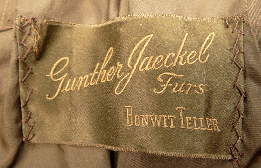 Lady's Vintage Gunther Jaeckel Furs for Bonwit Teller - 4