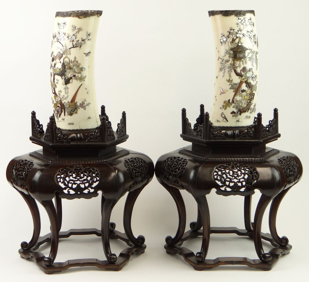 Important Pair of Japanese Meiji Period (1868-1912)