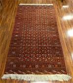 Semi Antique Pakistani HandKnotted Bokhara Wool Rug
