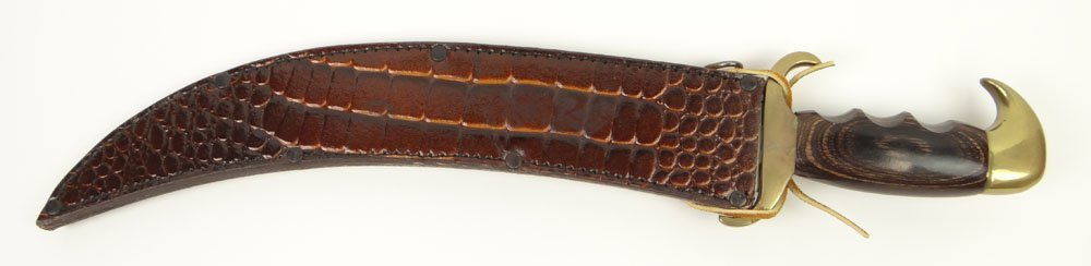 Jaws 722 Bowie Knife with Curved 13 Inch Stainless - 3