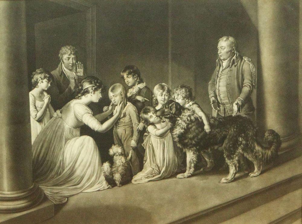 "Richard Earlom British (1743-1822) Mezzotint ""The Child"