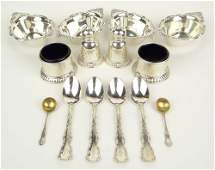 Collection of Vintage Birks Sterling Silver Table Items