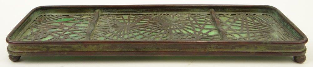 Early 20th Century Tiffany Studios New York Bronze and